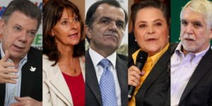 Candidatos presidencia Colombia